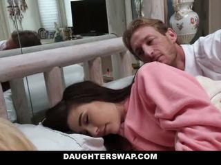 Daughterswap - daughters körd under sleepover