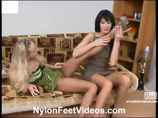 foot fetish, stocking sex, sexy nylon legs and feet