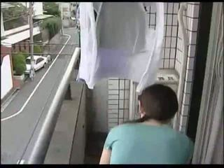 japonés, ama de casa, milf