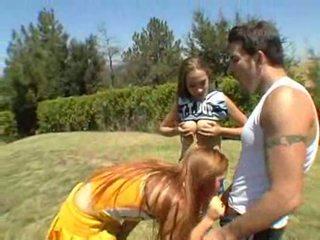 Jamie elle en ashley are sommige freaky bips cheerleaders