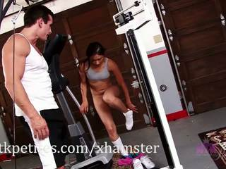 Cali Lee and Talon get a Hot Workout in, Porn 36