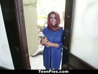 Teenpies - muslim tyttö praises ah-laong mulkku