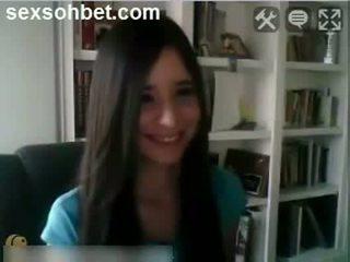 webcam, brunetes, home made