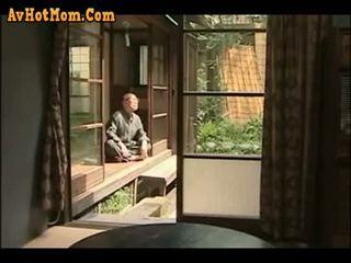 японський, тато, дочка