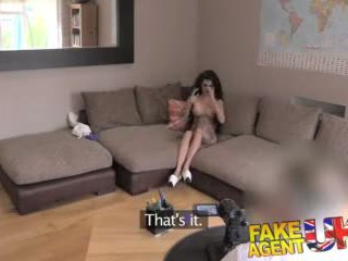 Fakeagentuk Petite Uk Babe Tries First Time Anal on the Casting Couch Video