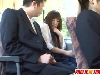 japanisch, sex in der öffentlichkeit, reverse cowgirl