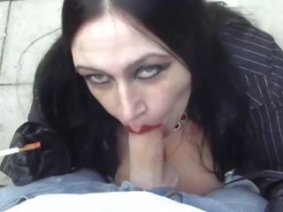 blowjobs, gothic, huge tits