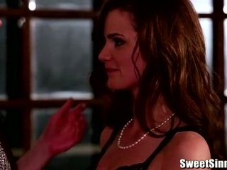 Lily Carter and India Summer insane th...