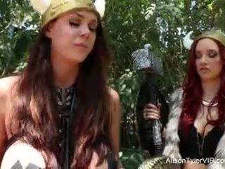 Alison tyler viking lesbiske