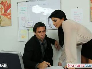 Office babe Romi Rain fucking