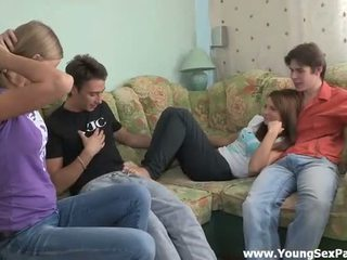 Incredible gruppe sex handling