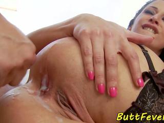 Taga-europa modelo assfucked sa damit-panloob, hd pornograpya b5