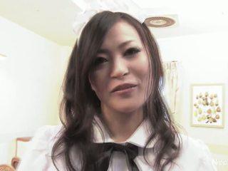 Japans serveerster fucks sommige guys