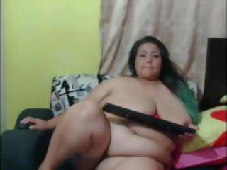 SSBBW: Big Natural Tits & Webcam Porn Video 93