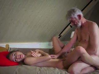 老 和 年輕 他媽的: 老 他媽的 年輕 色情 視頻 90
