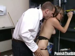 Teen Gets Punished By Her Boss