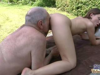 Old Young Porn - Grandpa Fucks Teen Hardcore Blowjob.