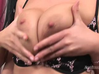 Busty ChrisTina Jolie Receives Her Milk Shakes Tickled Sexy With Her Lover's Tongue