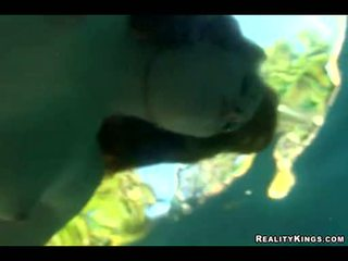 Lewd Ami Emerson Likes To Get Fucked Underwater By A Hard Man's Cock