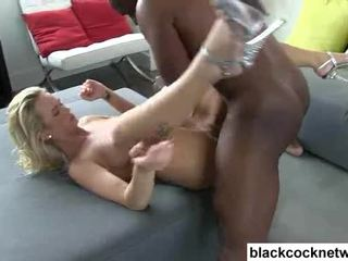 Emily austin has her burungpun destroyed by mandingo video
