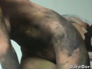 Dirty college girls having sex