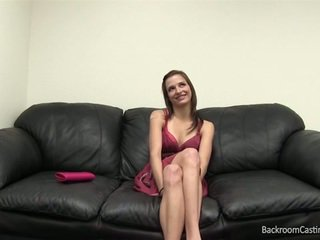 Chick fucked in backroom casting