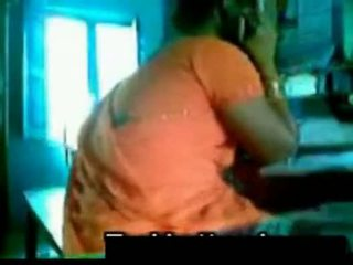 Orange saree aunty with uncle shafy