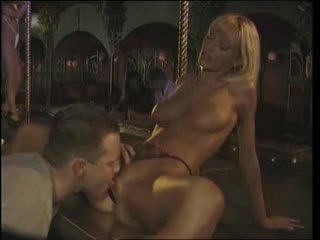 Anita ξανθός - συνδετήρας στάδιο γαμήσι σε ο νύχτα κλαμπ (1996)