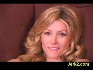 Hot blonde Heather Vandeven in sexy lingerie Video