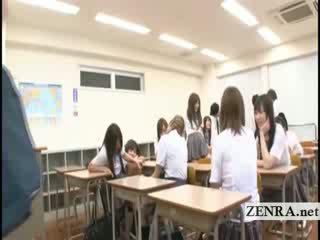 Subtitles japan school prawan mistakenly naked in school