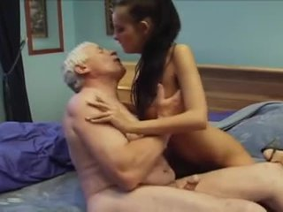 Old Men Fuck Beautiful Girl