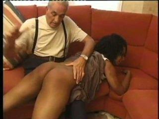 mbi gju spanking, i fuqishëm, fshikullim