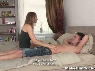 ทำ เขา ผัวมีเมียน้อย: unfaithful bf deserves punishment
