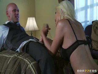 Безкоштовно великий синиця білявка в дика секс дію