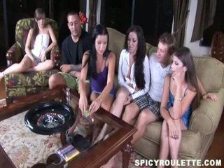 mooi tiener sex, kwaliteit groepsseks mov, tieners thumbnail
