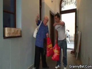 Teenaged Boy Pounds Great Grandma