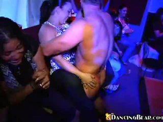 orgie, kijken sex partij scène, dronken meisjes