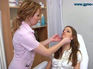 Brunette Gyno Exam