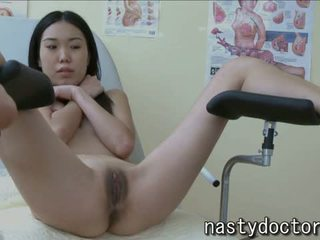 Petite Asian Pussy Exam