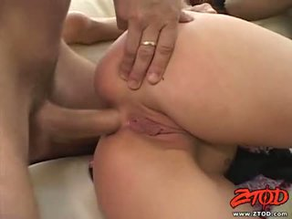 Netted jana deja daire receives a ramrod drilling in this guyr warm mouth