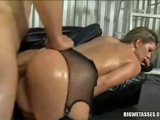 ホット ベイブ avy scott gets 彼女の 尻 banged から 後ろ と takes spunk 流れ