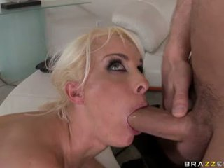 Busty Whore Holly Halston Gets Her Throat Fucked