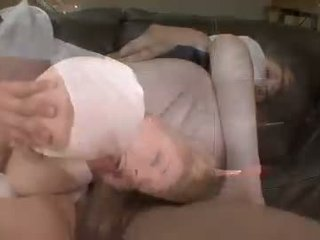 Marie McCray Gets Sprayed With A Warm Jizz On That Ladr Nose