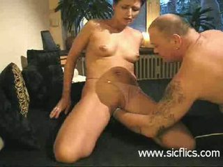 Extreme amateur brutally fist fucked in her huge