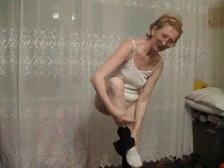 striptease, granny, mature amateur, amateur