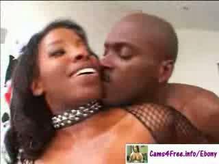 ebony Hot ebony MILF Vanessa Blue!