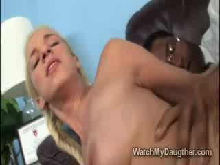 Very Pretty blondie doll Hooker Jada Stevens gets fucked by big ebony man