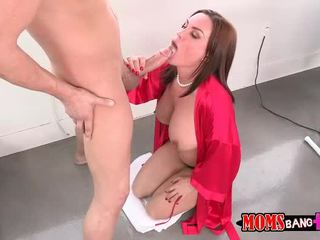 Abby Cross 3some with her BF step mom