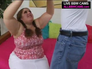 Talented fett bbw superstar swallows teil 1