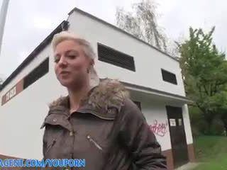 PublicAgent HD Cute foxy blonde lowers her standards and fucks for cash